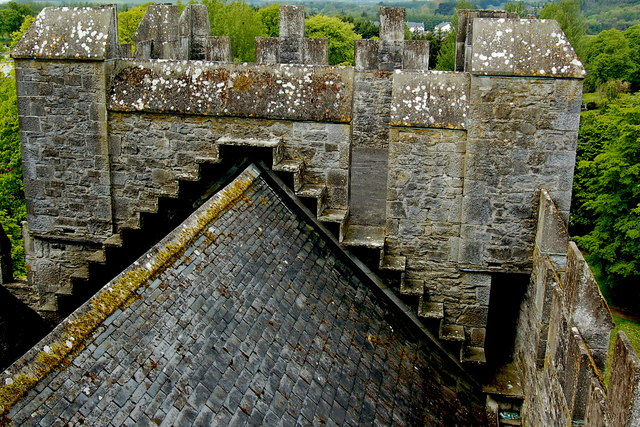 Bunratty Castle View From Top Of 169 Joseph Mischyshyn
