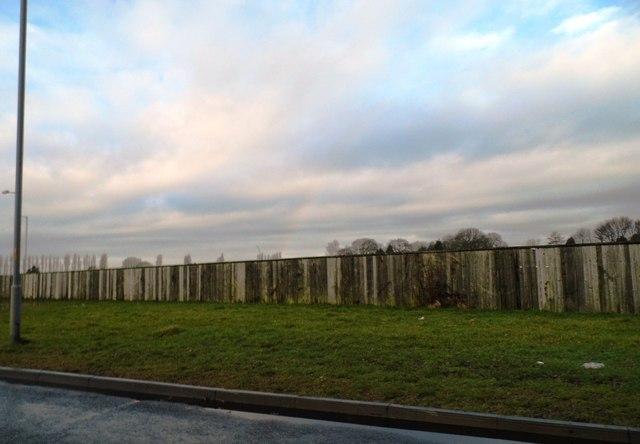 Security Fence Ashworth Hospital 169 Anthony Parkes