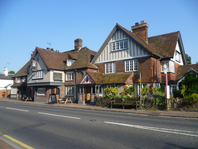 The White Hart At Brasted The Battle Of 169 Marathon Cc