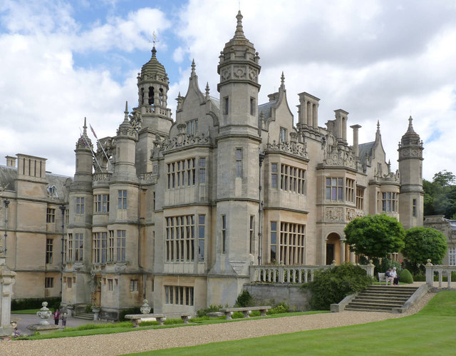 Harlaxton Manor From The Terrace 169 Alan Murray Rust Cc By