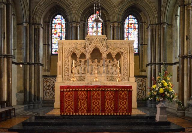 Altar And Reredos Rochester Cathedral 169 Julian P Guffogg