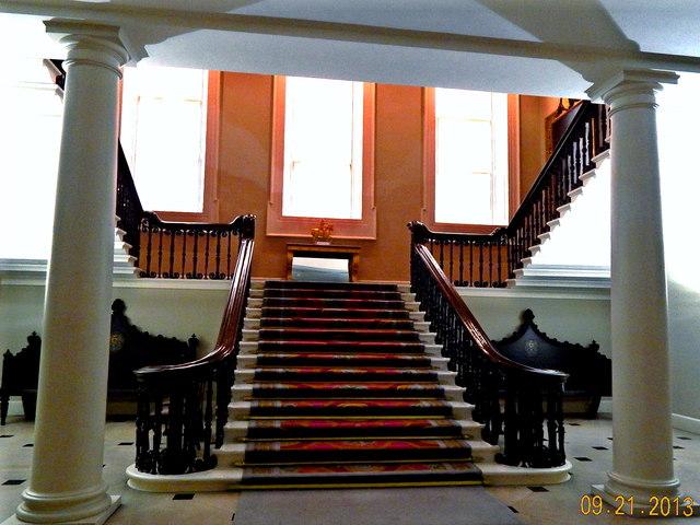 Dublin Castle Interior Grand Staircase 169 Suzanne