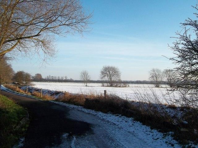 Sinfin Lane and Adjoining Fields © Jonathan Clitheroe ...