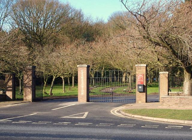 Mansfield Crematorium Derby Road 169 David Hallam Jones