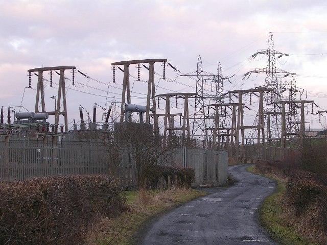 Electricity Substation Near Gartcosh 169 Chris Upson Cc By
