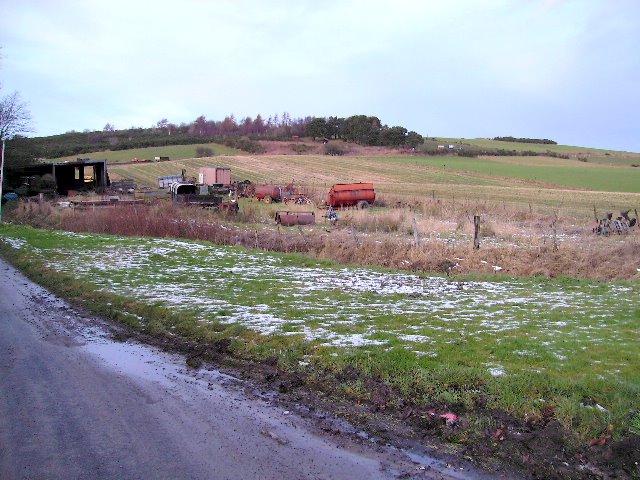 Land adjoining Morven Lane © Ann Harrison cc-by-sa/2.0 ...