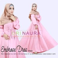 Gamis Dress Ambrose Ori Naura