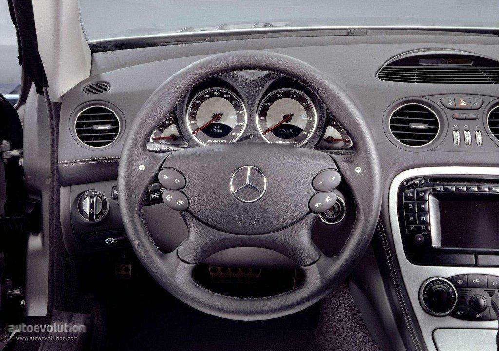 Mercedes Benz Sl 55 Amg R230 Specs Amp Photos 2002 2003