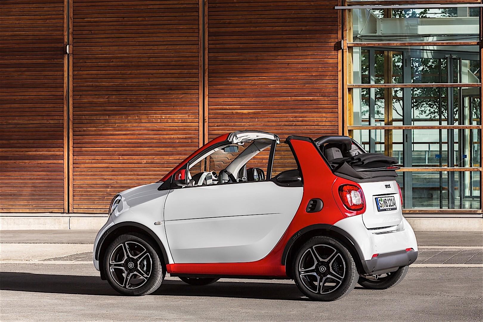 2016 2017 Smart Fortwo Cabrio