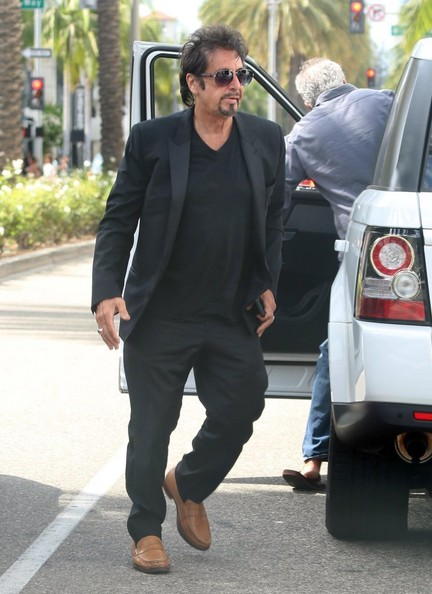 Al Pacino Drives A Range Rover Not The Grand Cherokee He Did An Ad For Autoevolution