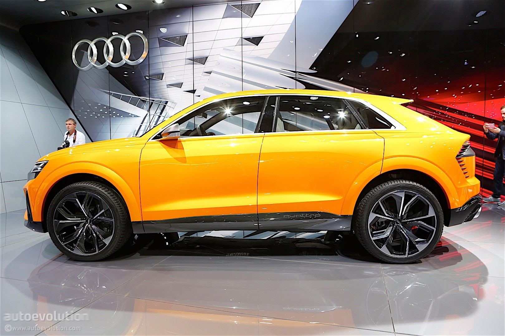 Audi Integrats Android In Its Q8 Sport Concept Expect It