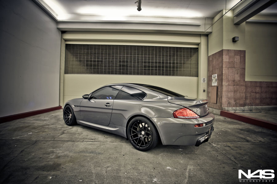 Bmw E63 M6 Rides On Bc Forged Wheels Autoevolution