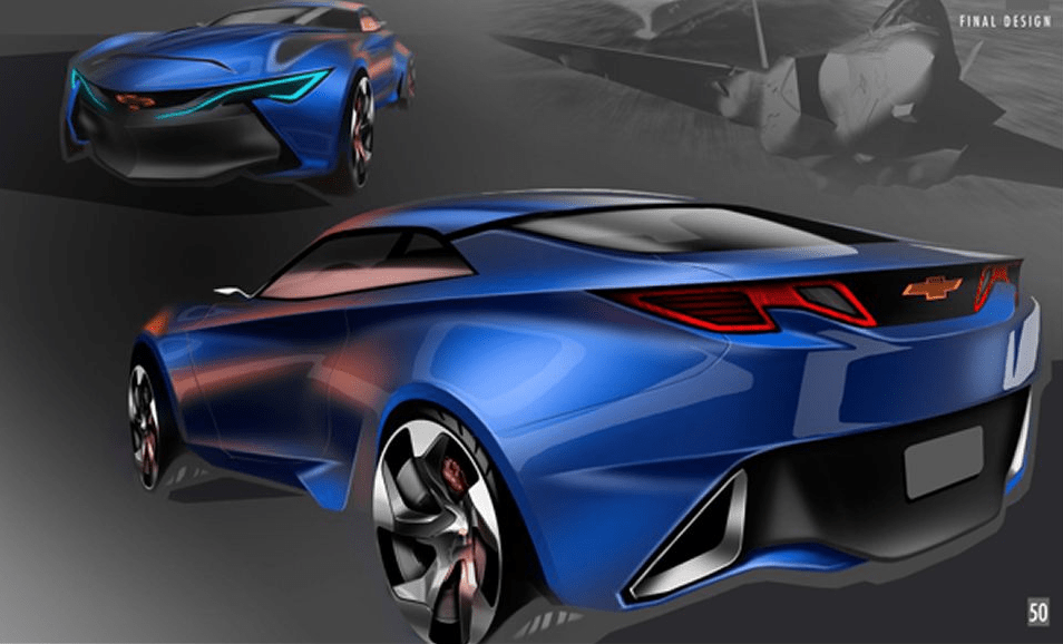 Next Generation Chevrolet Camaro Previewed By 1 3 Scale