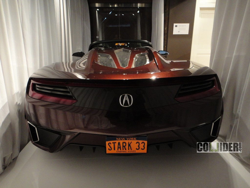 Scooped Tony Stark S 9 Million Acura Supercar From The