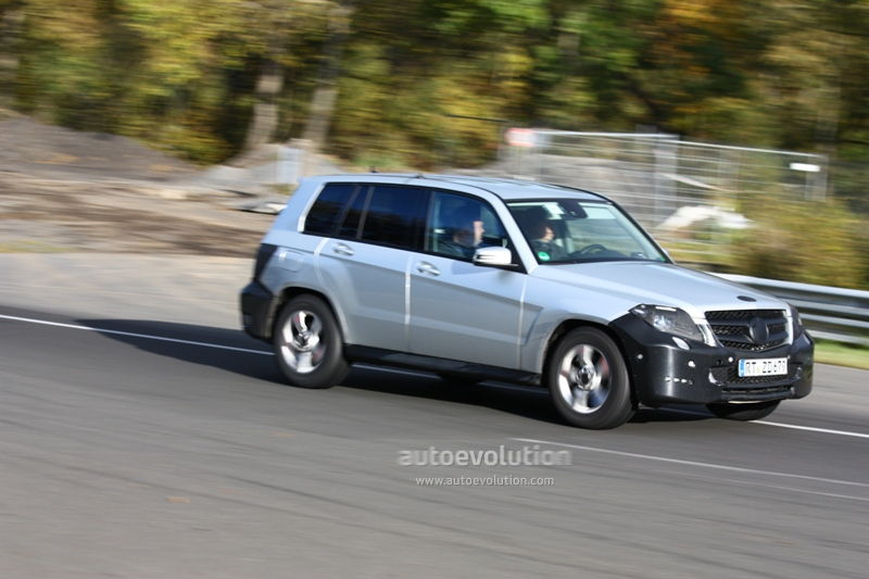 2012 Mercedes Glk Changes