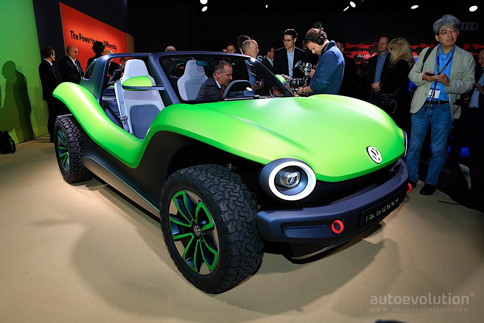 Volkswagen Id Buggy Is A Speck Of Green Beach Fun In