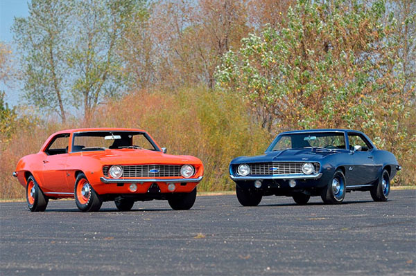 Two 1969 Chevrolet Camaro ZL1 Ultra Rare Muscle Cars Are Looking for     12 photos