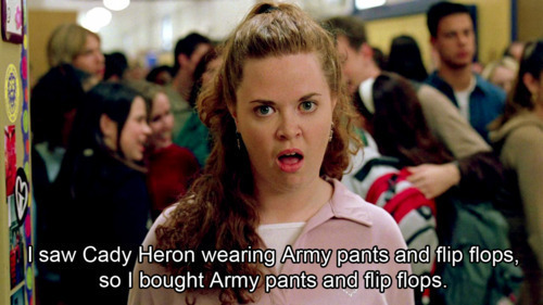 Funny Quotes From Mean Girls   Funny Quotes cady heron  funny  mean girls  movie  movie quote