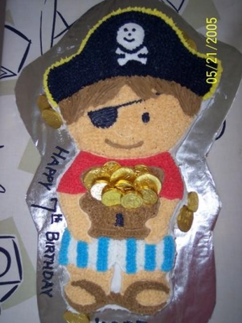 Pirates Theme Birthday Cake Birthday Cakes
