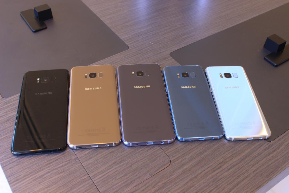 Samsung Galaxy S8 Colors Where Will Blue Coral And Maple