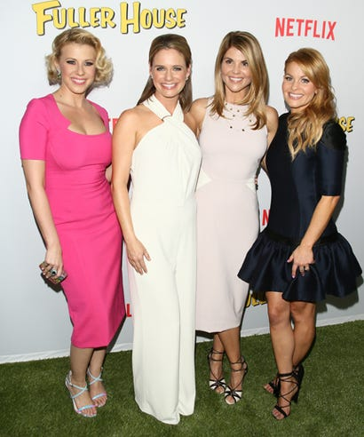Jodie Sweetin Full House Cast Interview The Fuller House Cast Told Us Their Secrets On Friendship  Bob Saget    High Waisted Jeans