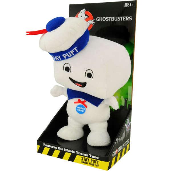 Ghostbusters Stay Puft Medium Talking Plush Toys Zavvi