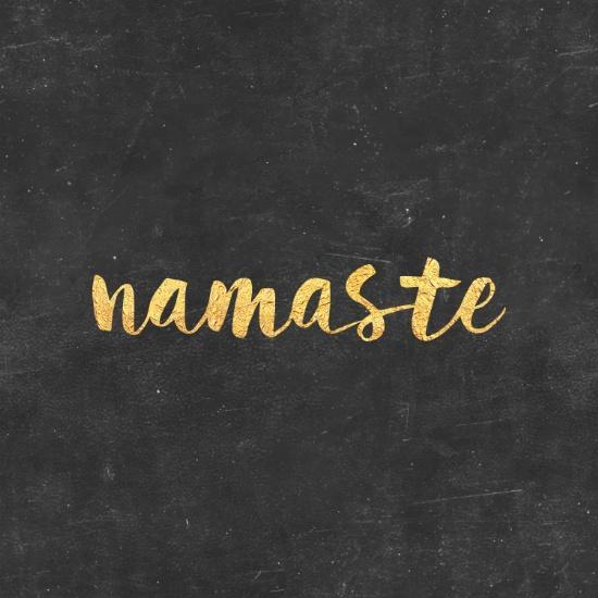 Namaste Art Print by Text Guy   Society6 - image #4071492 ...