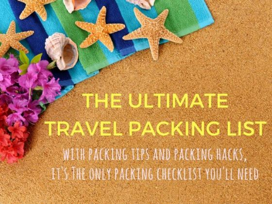 The Only Packing List Template You ll Ever Need   Indiana Jo This printable travel packing list with packing hacks and packing tips is  perfect for short trips
