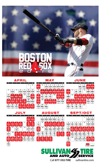 red sox schedule # 64