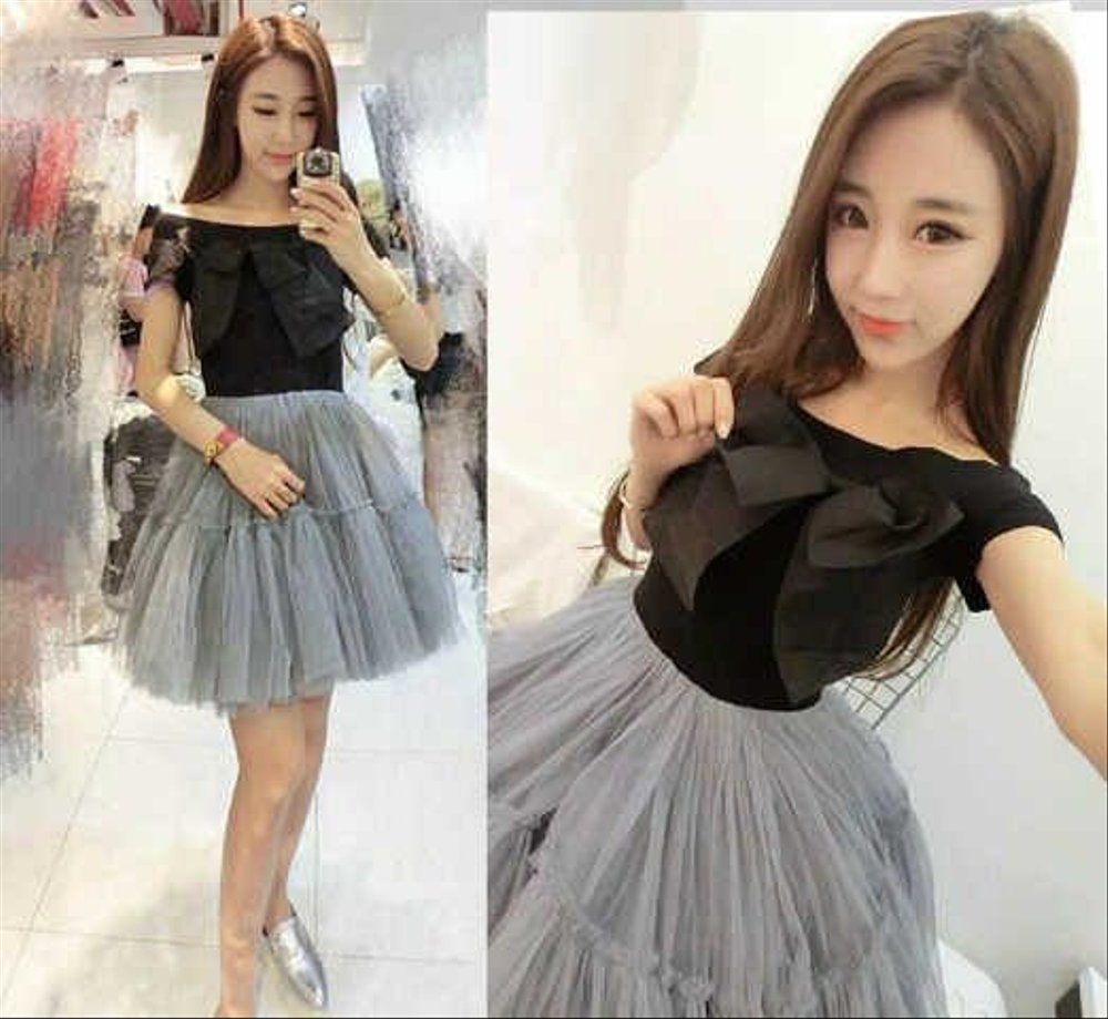 Model Baju Dress Pendek 16
