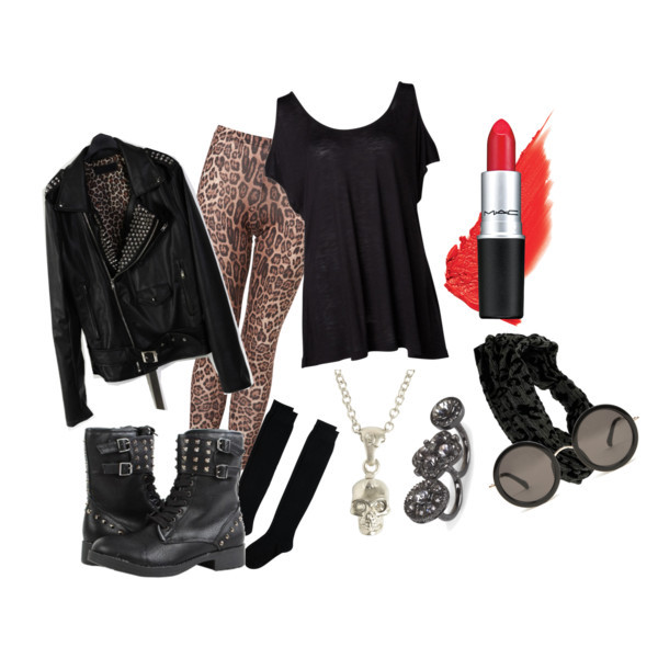 Polyvore Bad Girl Dress