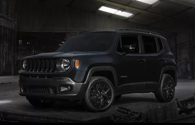 Renegade Limited 2016 Decals Jeep