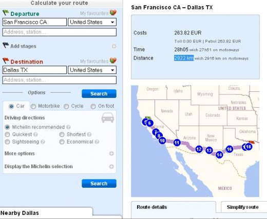 Mapquest Distance Between Two Cities - Mapquest distance