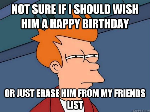 My Friends Birthdays List