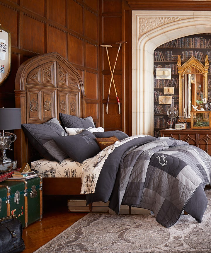 Pottery Barn Launches Harry Potter Decor For All Ages Harry Potter Home Decor Just Landed At Pottery Barn