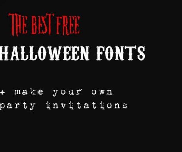 free halloween fonts # 33