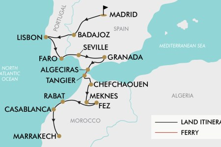 Map Of Spain Portugal And Morocco.Globus Tours Spain Portugal Morocco Reviews Myvacationplan Org