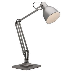 Mercator Ashton 55cm Desk Lamp Pewter   Officeworks     Mercator Ashton 55cm Desk Lamp Pewter