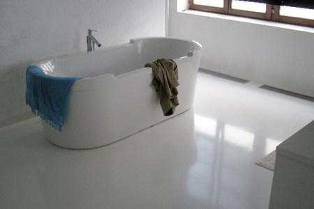 Idées de Cuisine » gietvloer badkamer voordelen   Idées Cuisine