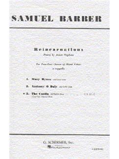 Samuel Barber Reincarnations The Coolin Choral Sheet
