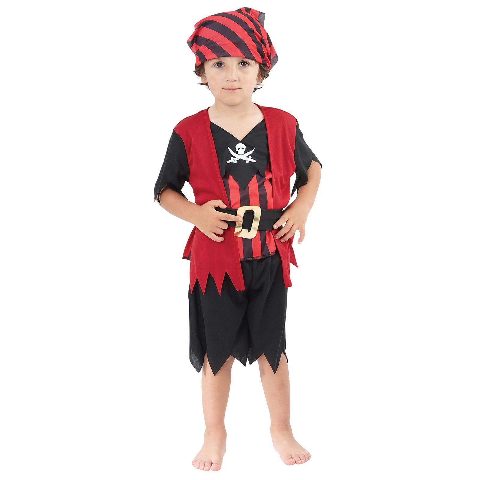 Age 2 3 Girls Boys Toddler Pirate Costume Childrens Kids Book Week Fancy Dress Ebay