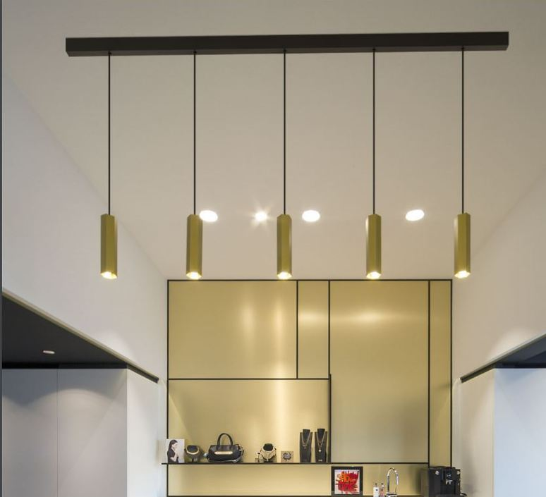 Five Light Linear Pendant