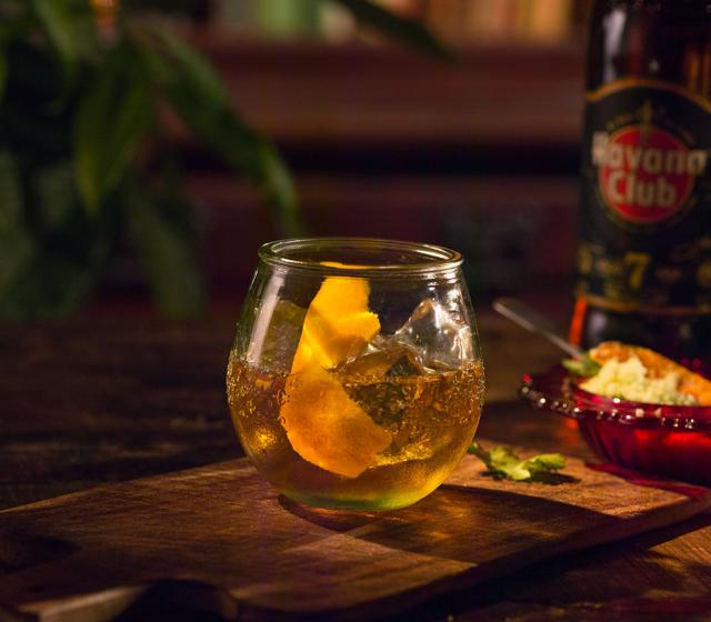 Rum Old Fashioned Recipe   Rum cocktails   Havana Club
