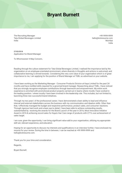 Coordinator Cover Letter Samples Communication