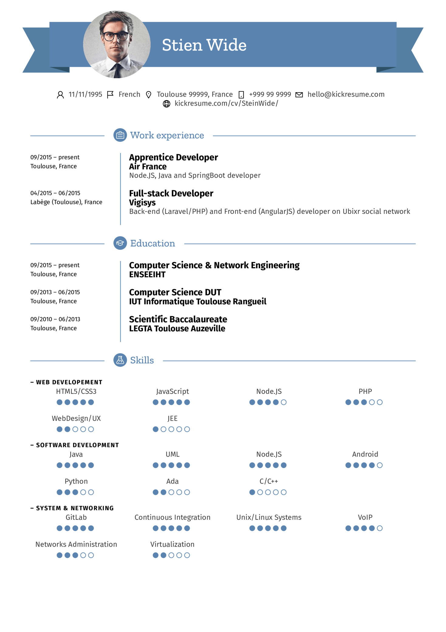 Resume Examples By Real People Air France Team Manager