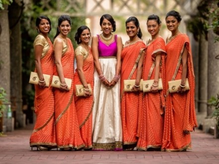 How To Prepare For A Big Fat Indian Wedding   Indian Fashion Blog Matching Bridesmaids Dresses   The Essential Guide to Indian Wedding Outfits