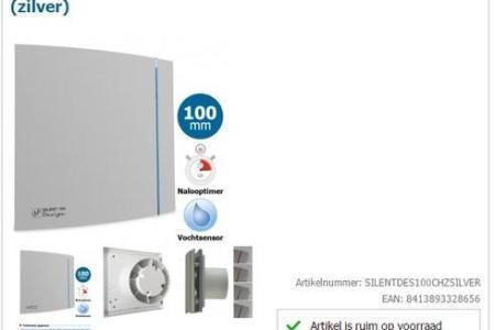 Huis Meubelen 2019 » mechanische ventilatie badkamer aanleggen ...