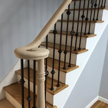 Art Stairs 13 Photos Contractors 79 27 Myrtle Ave Glendale | Staircase Builders Near Me | Stair Treads | Stair Case | Deck | Stair Parts | Handrail