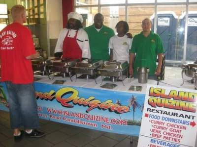 Island Quizine at an outside catering | Yelp