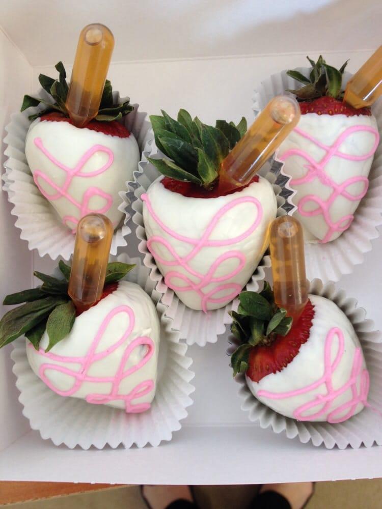 Hennessy Shot Chocolate Covered Strawberries Yelp